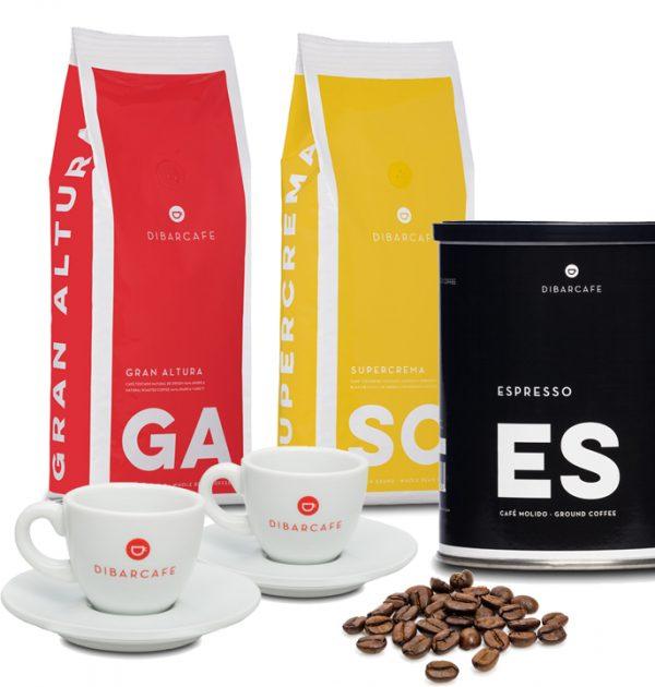 Dibarcafe litet prova på paket från www.kaffebönor.se